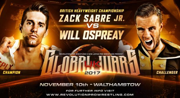 RPW Global Wars UK 2017 Night Two Results & Review