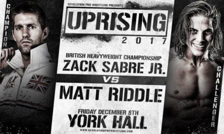 RPW Uprising 2017 Results & Review