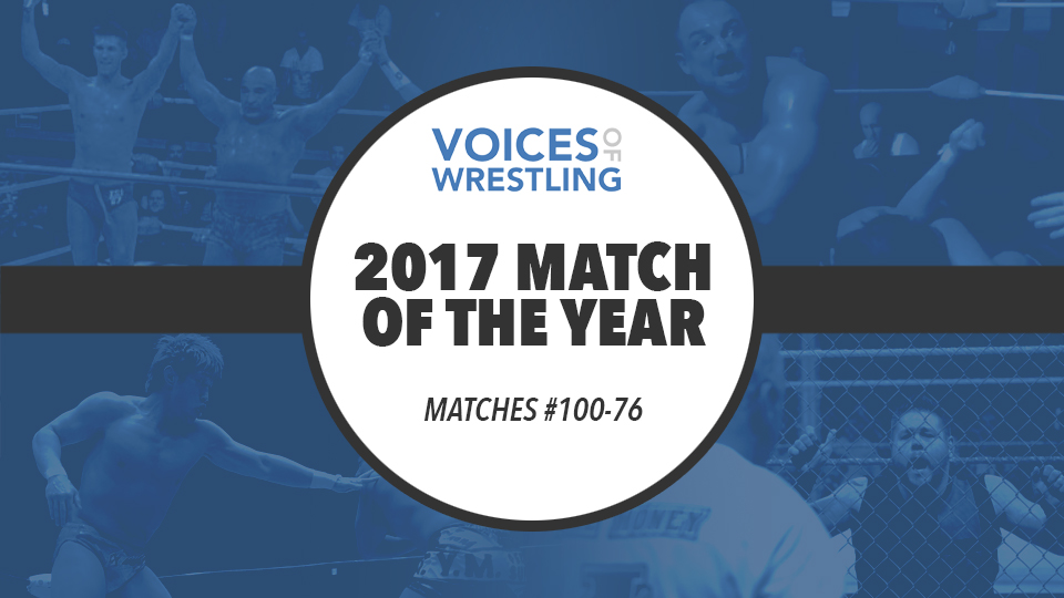 Voices of Wrestling 2017 Match of the Year