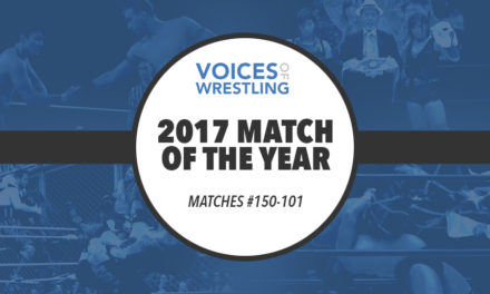 2017 Match of the Year: #150-101