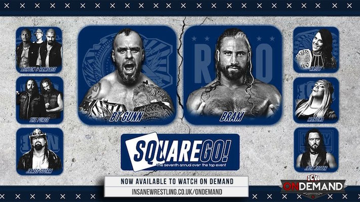 ICW Square Go! 2018 Results & Review
