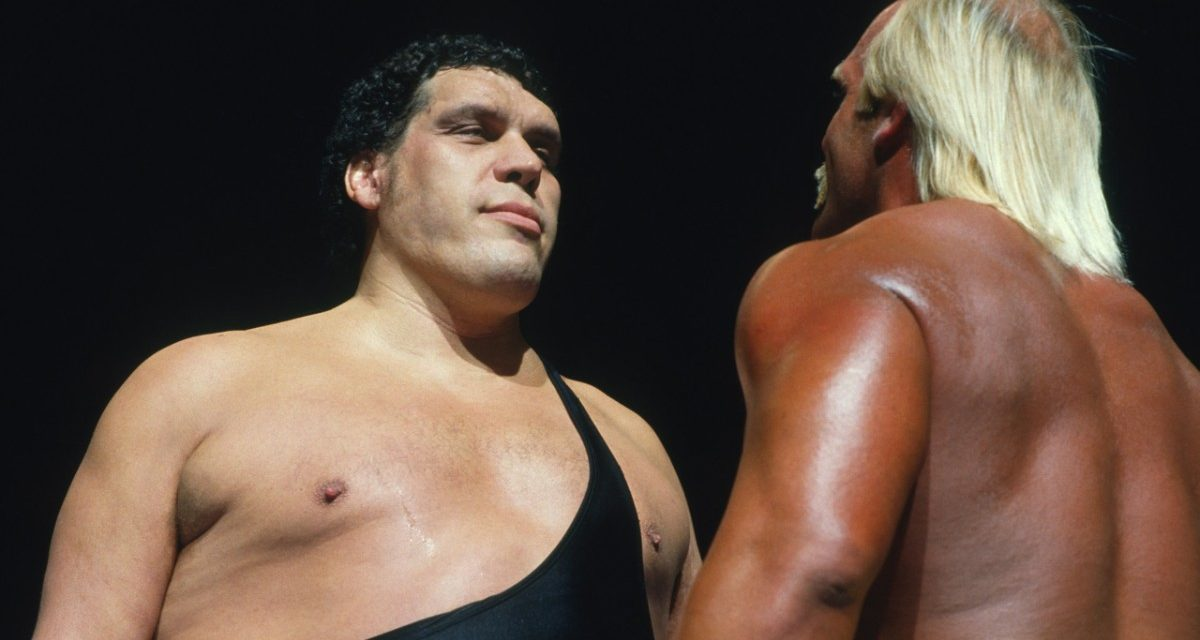 When Andre The Giant Wore The Black Hat