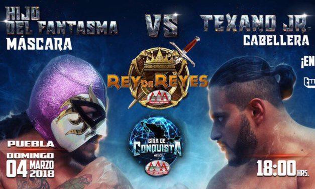2018 AAA Rey de Reyes Preview: Hijo del Fantasma vs. Texano