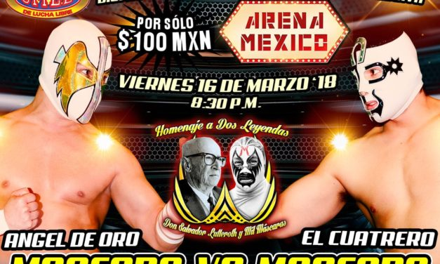 CMLL Homenaje a Dos Leyendas (March 16) Results & Review