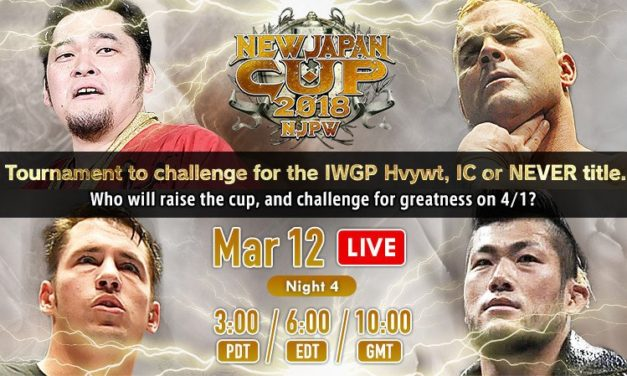 NJPW New Japan Cup 2018 Night 4 (March 12) Results & Review