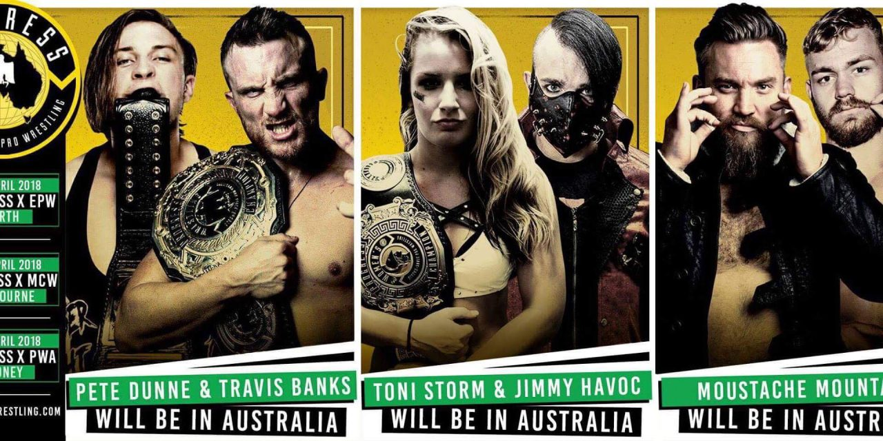PROGRESS in Australia Preview (Part 1: EPW x PROGRESS)