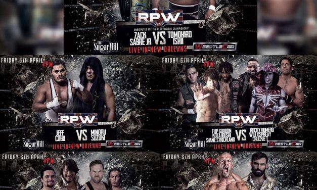 Revolution Pro Wrestling (WrestleMania Weekend 2018 Previews)