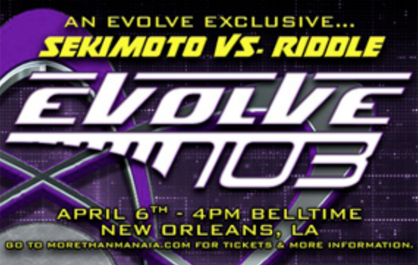 EVOLVE 103 (April 6th) Results & Review