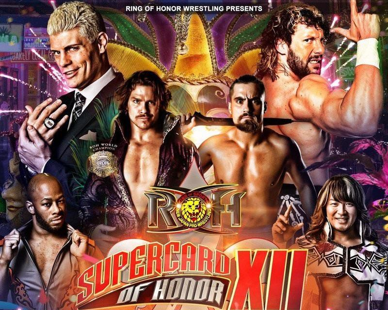 ROH Supercard Of Honor XII (April 7th) Results & Review