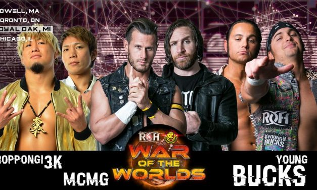 ROH/NJPW War Of The Worlds 2018: Night 3 (May 12th) Results & Review