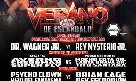 AAA 2018 Verano de Escandalo Preview: Mysterio/Wagner & MAD