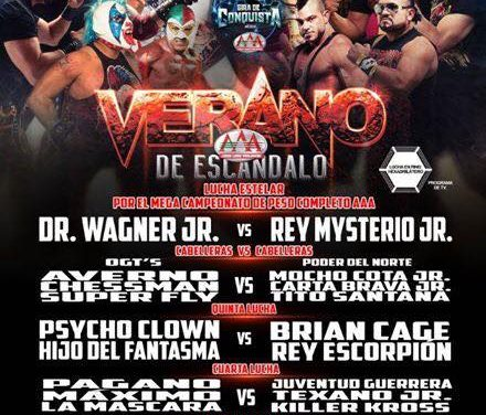 AAA 2018 Verano de Escandalo Preview: Mysterio/Wagner & MAD