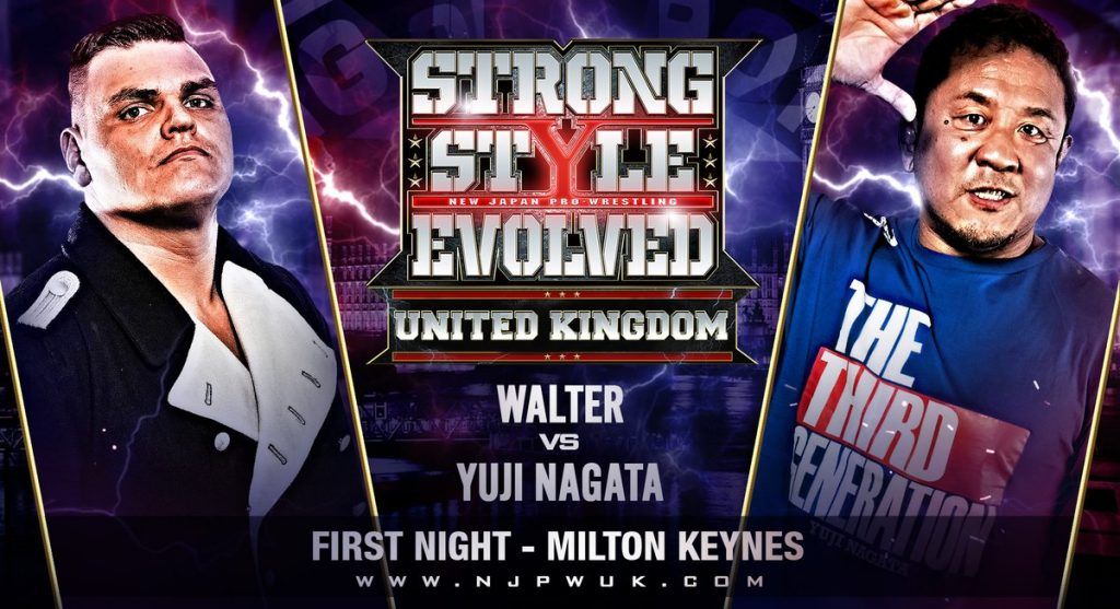 VoicesofWrestling.com - Strong Style Evolved UK Big