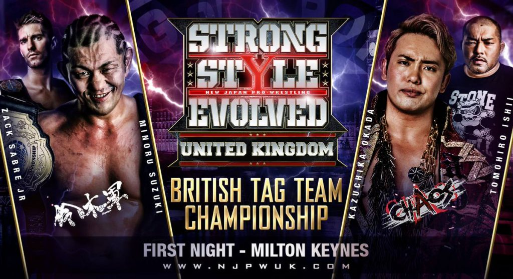 VoicesofWrestling.com - Strong Style Evolved UK