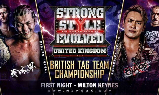 NJPW Strong Style Evolved UK Night 1 Results & Review