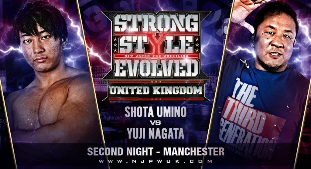 VoicesofWrestling.com - Strong Style Evolved UK Young
