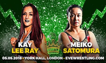 EVE Wrestle Queendom Results & Review