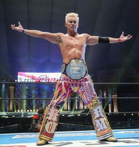 Fashionable Wrestling: The Infamous Kazuchika Okada Pants