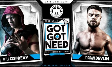 PROGRESS Chapter 72 'Got Got Need' Results & Review