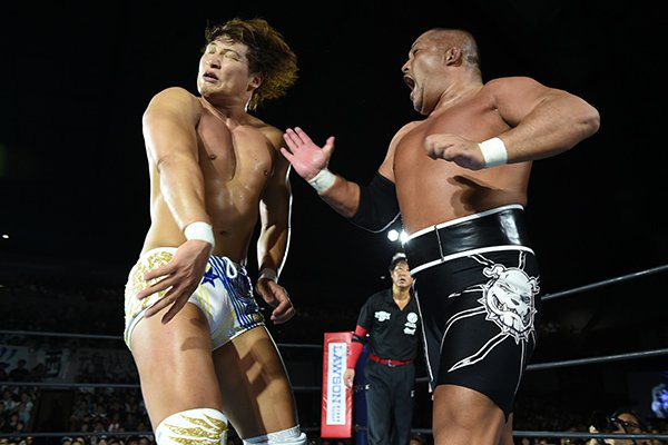 Blood from a Stone Pitbul: Tomohiro Ishii vs. Kota Ibushi