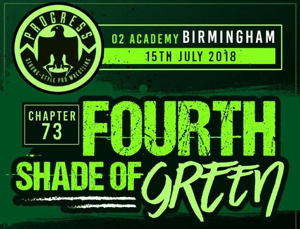 "PROGRESS Chapter 73 ""Fourth Shade of Green"" Results & Review"