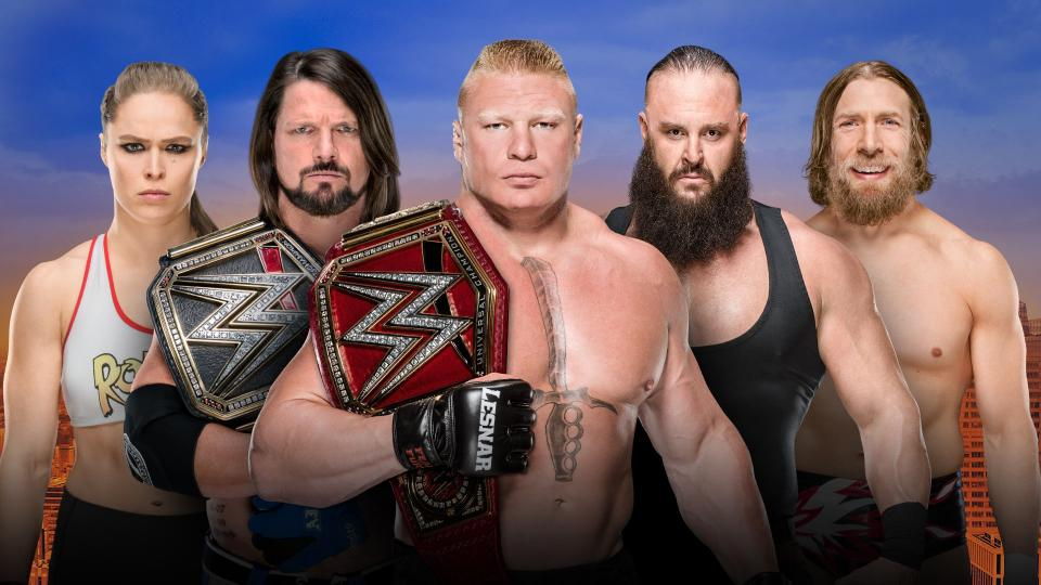 WWE SummerSlam 2018: By The Numbers