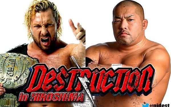 NJPW Destruction in Hiroshima 2018 Preview & Predictions