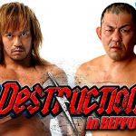 NJPW Destruction in Beppu 2018 Preview & Predictions