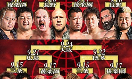 AJPW Royal Road Tournament 2018 Finals Results & Review