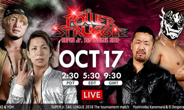 NJPW Road to Power Struggle 2018 (October 17) Results & Review