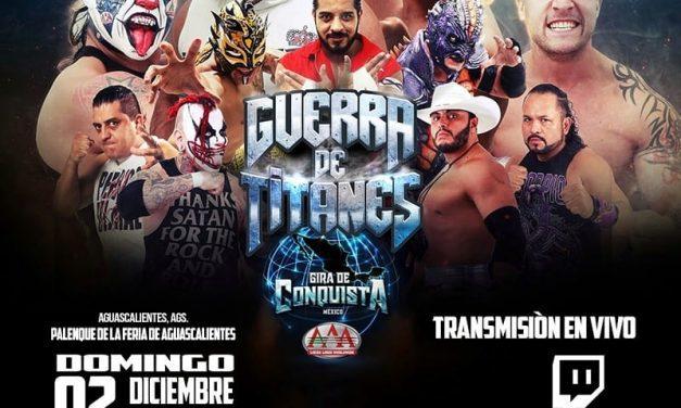 AAA Guerra de Titanes 2018 II (December 2) Preview