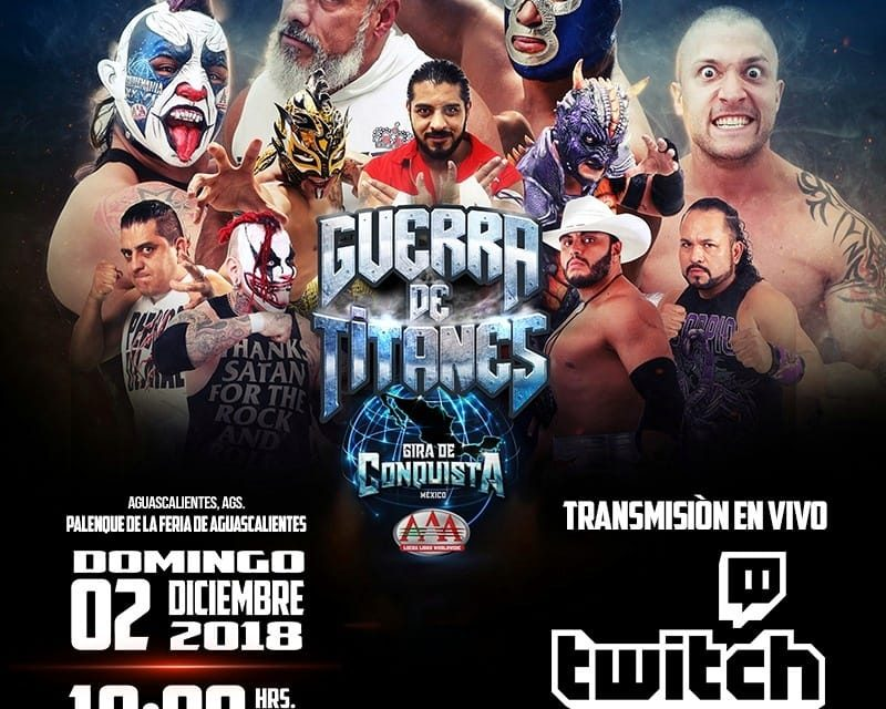 AAA Guerra de Titanes 2018 II (December 2) Preview