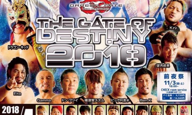 Dragon Gate Gate of Destiny 2018 (November 4) Preview & Predictions