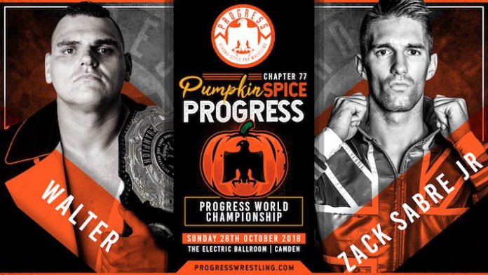 PROGRESS Wrestling Chapter 77 Pumpkin Spice Results & Review