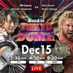NJPW Road to Tokyo Dome (December 15) Results & Review