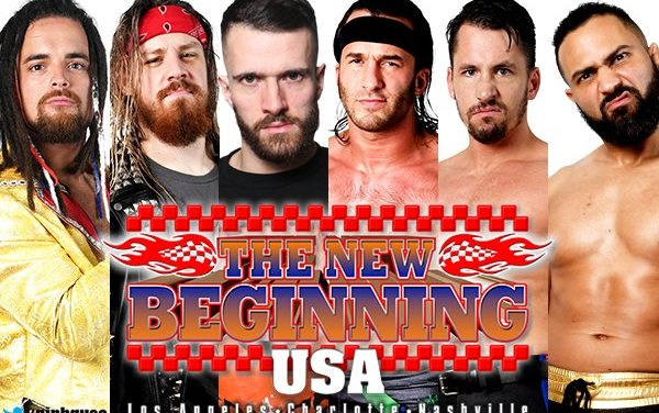 The Blame Game: NJPW The New Beginning in USA Card Announcement