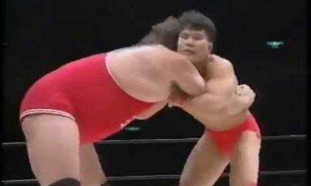 Suplexes & Death: Remembering Gary Albright vs. Kiyoshi Tamura