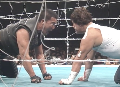 Blood on the Mat, Smoke in the Air: Remembering Chono vs. Onita