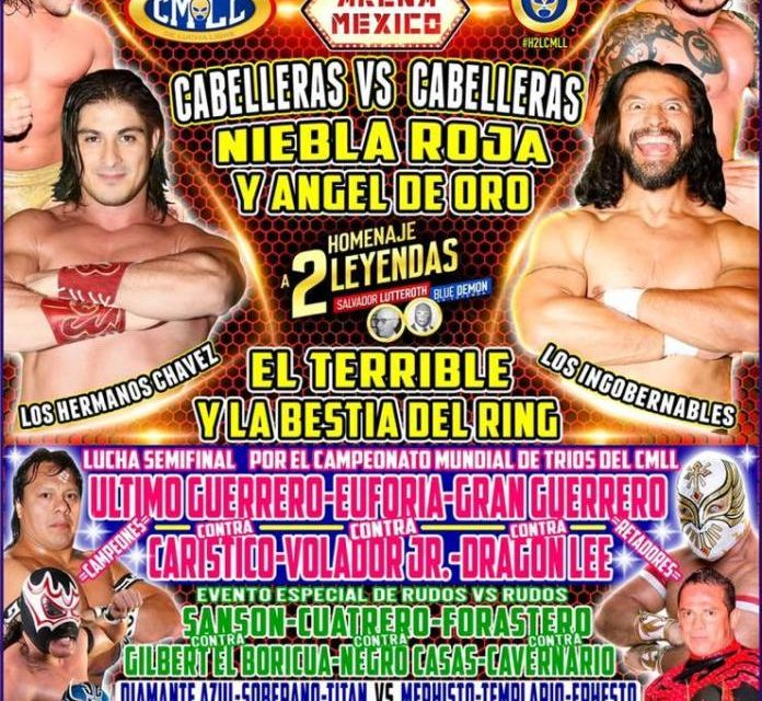 CMLL 2019 Homenaje a Dos Leyendas Preview