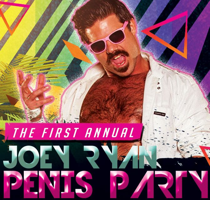 Joey Ryan's Penis Party (April 5) Preview