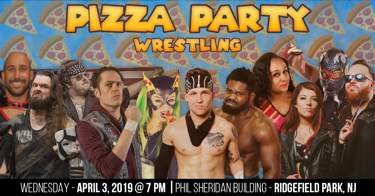 Pizza Party Wrestling (April 3) Preview