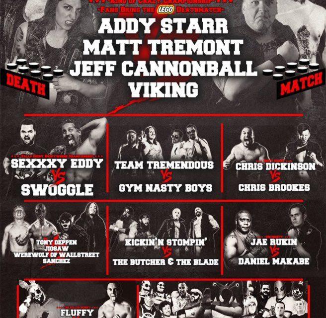 Interspecies Wrestling Boner Jam IV: Balls Out (April 4) Preview