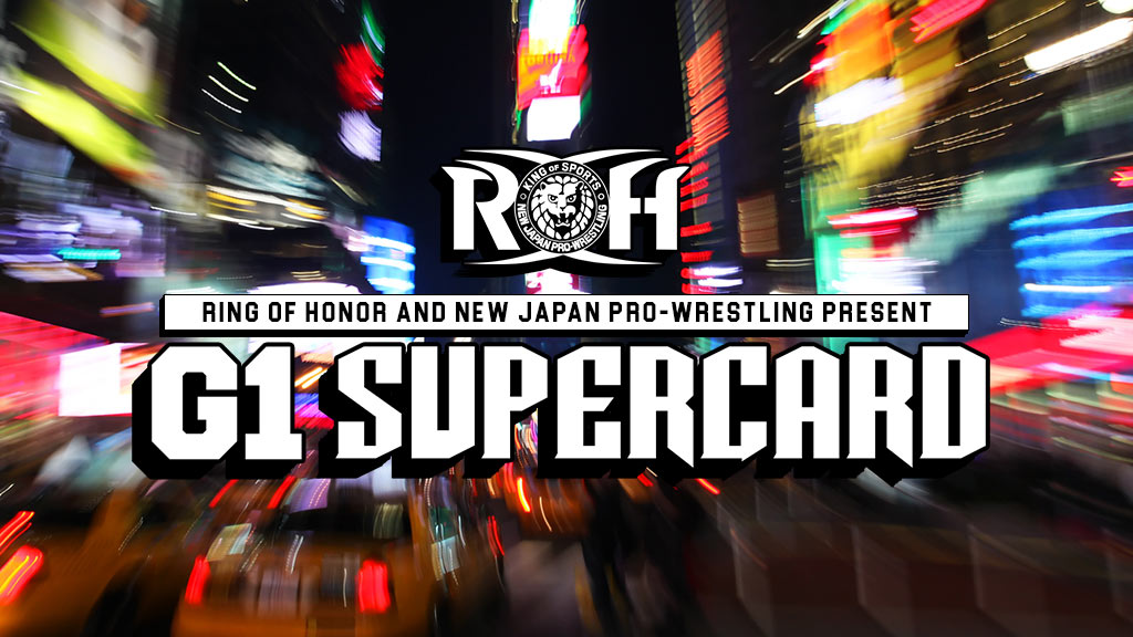 NJPW & ROH G1 Supercard (April 6) Preview