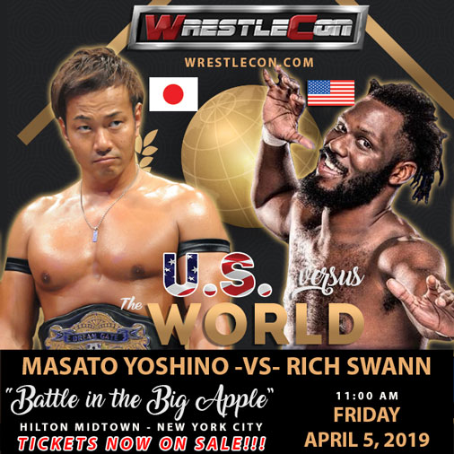 Wrestlecon US vs. The World: Battle in the Big Apple (April 5) Preview