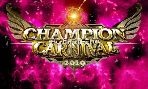 AJPW Champion Carnival 2019 Preview
