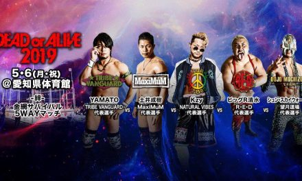 Dragon Gate Dead or Alive 2019 (May 6) Preview & Predictions