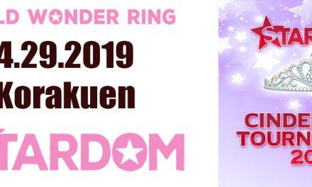 Stardom Cinderella Tournament (4/29/19) Results & Review