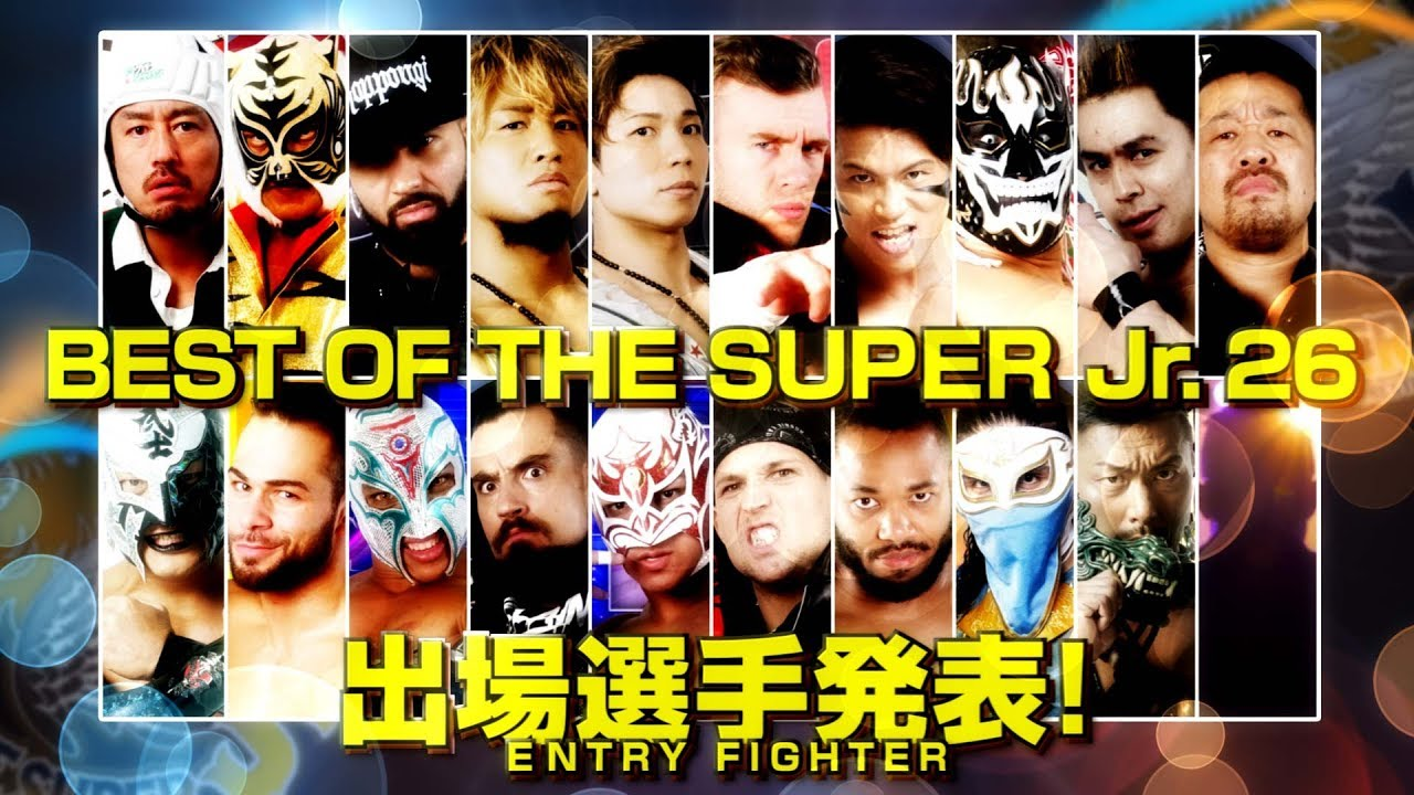 NJPW Best of the Super Juniors 26 All-In-One Preview & Schedule