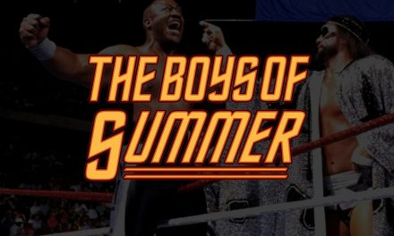The Boys of Summer (1989): Hogan & Beefcake vs. Savage & Zeus
