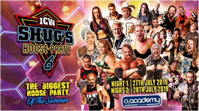 ICW Shug's Hoose Party 6 Preview